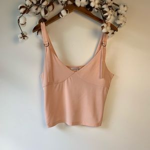 Zara Light Pink Crop Top M